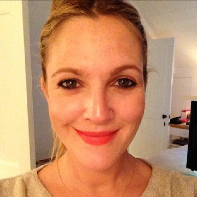 Drew Barrymore Shares Her Bridal Beauty Tips