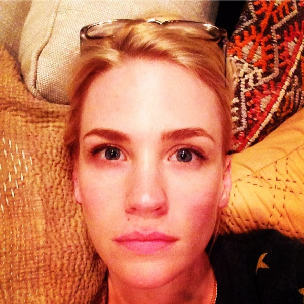 January Jones Reveals Her Mother's Best Beauty Advice
