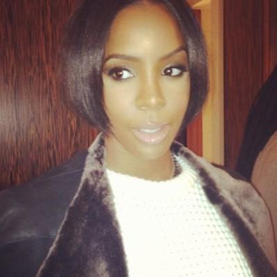 Kelly Rowland's Mole Beauty Secret & New Bob Haircut