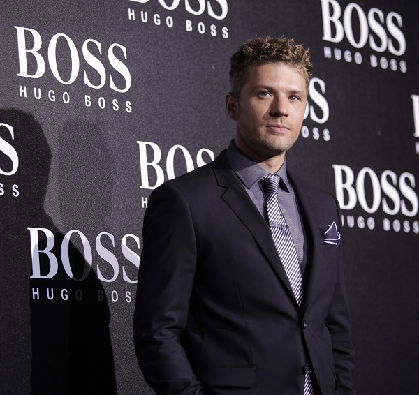 U.S. actor Ryan Phillippe poses ahead of the BOSS Black fall/winter 2012 fashion show by Hugo Boss in Beijing