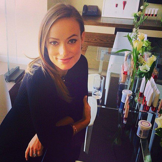 Olivia Wilde Plucked Her Brows to Look Like Kate Moss ... оливия уайлд инстаграм