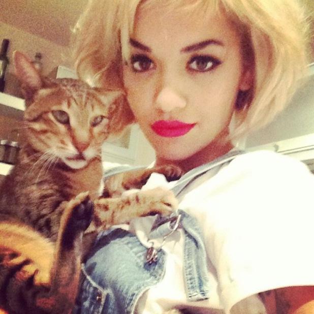 Rita Ora Inspired to Wear Red Lipstick by Gwen Stefani ...