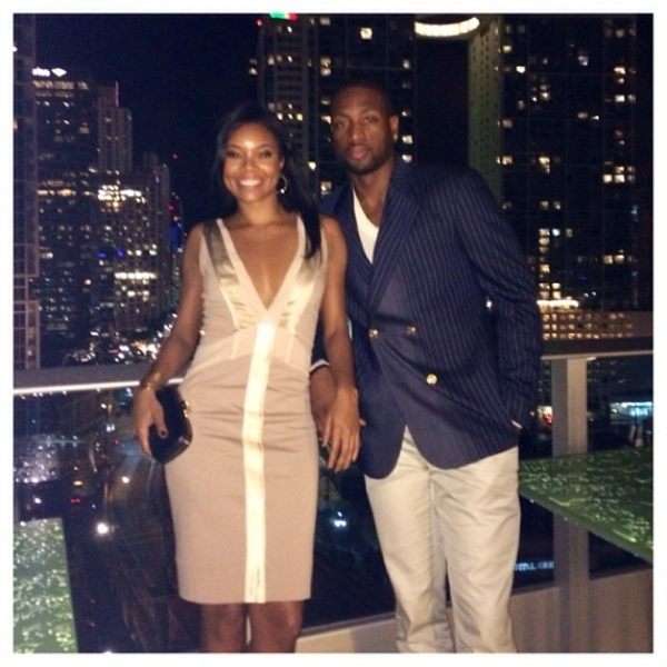 Gabrielle union gushes about her dennis basso wedding dress gab junglespirit Choice Image