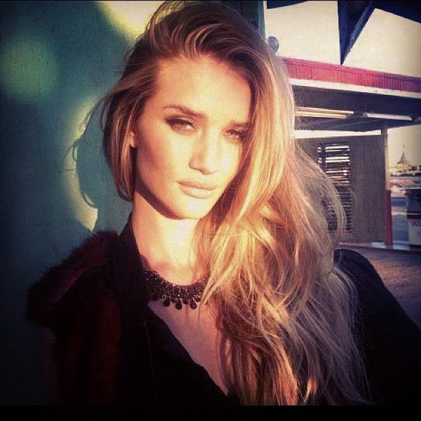 Rosie Huntington-Whiteley Finds Lingerie Shoots Empowering
