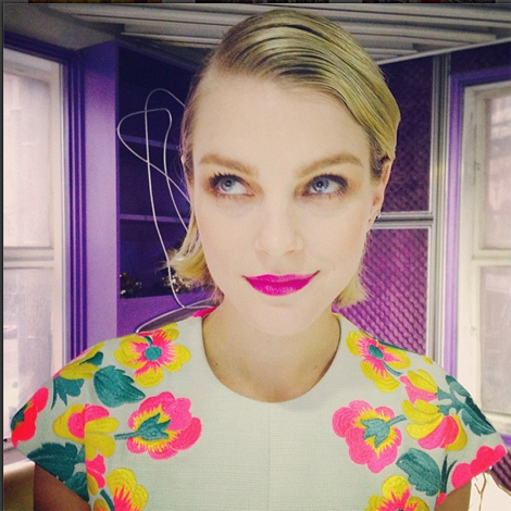 Jessica Stam on Fashion Week Beauty Preparation & Skin Tips
