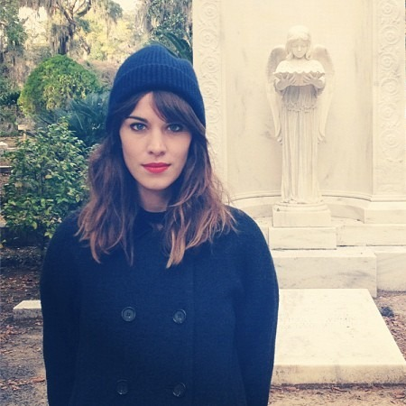 "Alexa Chung Thinks It's ""Crazy"" That People Copy Her Hairstyle"