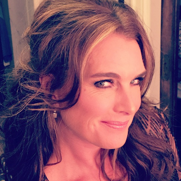 Brooke Shields Encouraged by Daughter to Wear More Makeup