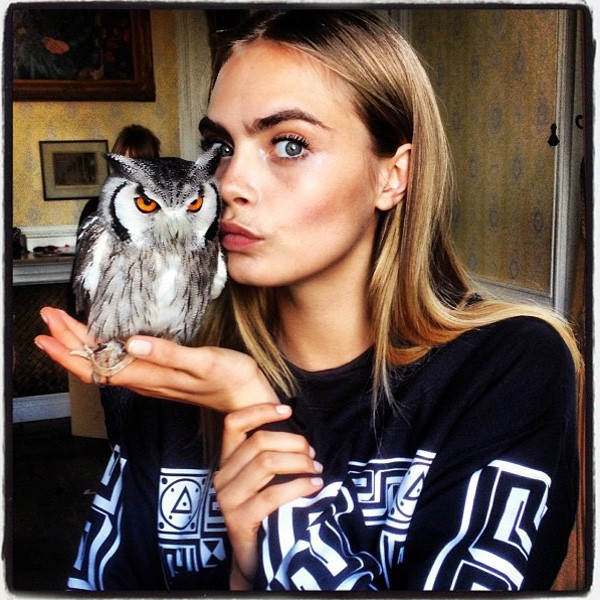 "Cara Delevingne on Kate Moss: ""She's An Extremely Strong Woman"""