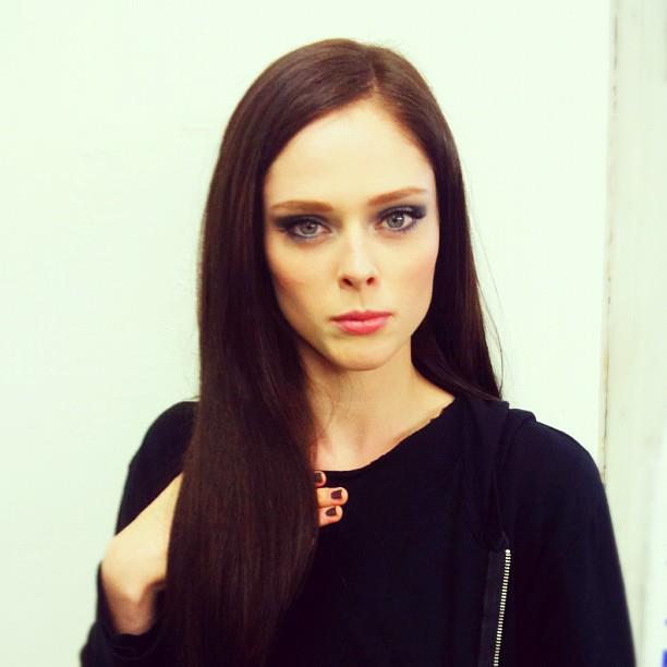 Model Coco Rocha Not Slowing Down Despite Pregnancy