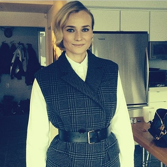 "Diane Kruger Says Fashion is ""an External Expression"""