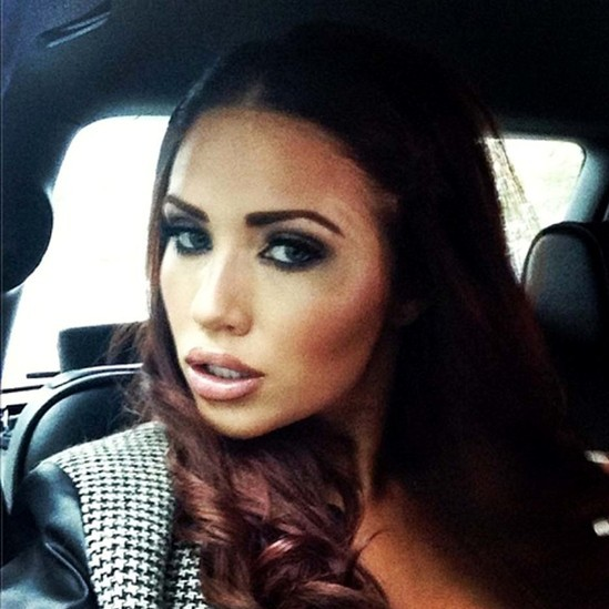 Amy Childs Hits Back at Claims Her Designs Copy Victoria Beckham