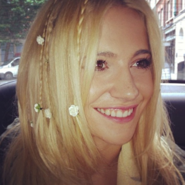 Pixie Lott Relies on Facial Brushes for Perfect Complexion