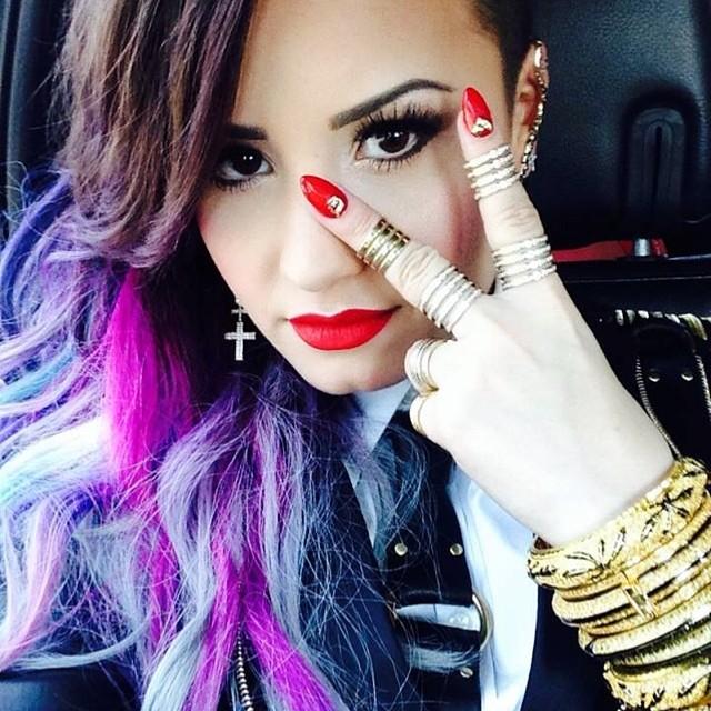Demi Lovato on Makeup Inspiration & Her Signature Beauty Looks