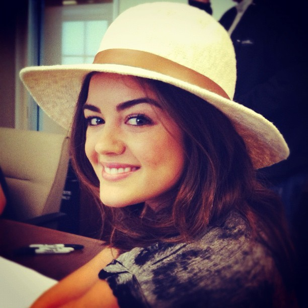 Lucy Hale on Makeup Experiments & Hoarding Beauty Products