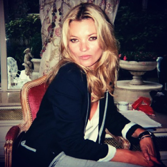 Kate Moss Shares Her Holiday Wardrobe Essentials