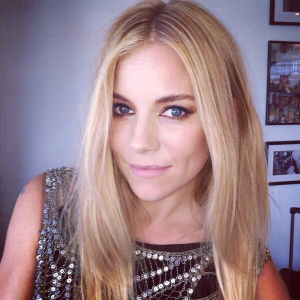 Sienna Miller's Grace Kelly Red Carpet Hair Inspiration