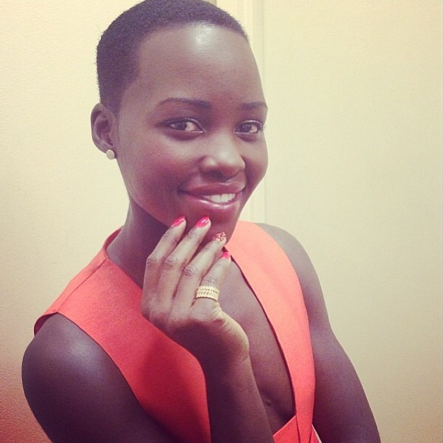Lupita Nyong'o Shares Skin Advice & Her Favourite Lip Colour