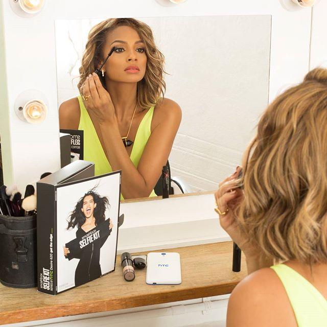 Alesha Dixon Launches Makeup Kit for Perfect Selfies