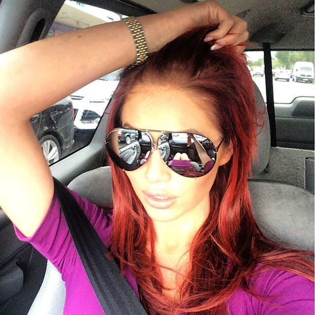 Amy Childs Now Loves Natural Makeup, Regrets 'Caked On' Look