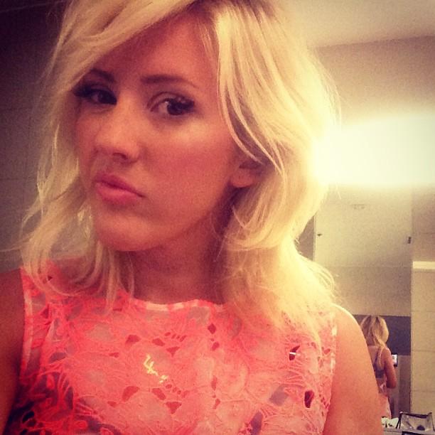 Ellie Goulding Reveals Her Budget Lipstick Trick
